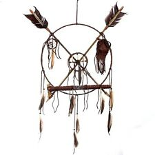 Ceremonial MEDICINE WHEEL, PEACE PIPE, DREAM CATCHER
