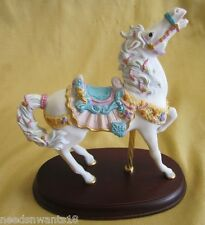 Lenox The Seaside Horse Art Figure The Carousel Collection in Original Box