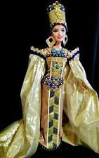 Nefertiti Queen of Egypt ~Barbie doll OOAK Egyptian Beauty