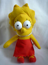 """LISA SIMPSON 15"""" SOFT TOY / OFFICIAL SIMPSONS / 20TH CENTURY FOX"""