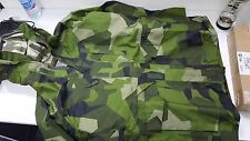 RARE Swedish M90 camo waterproof&breathable parka military goretex multiple size
