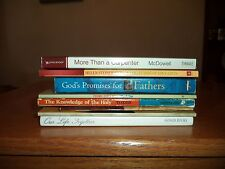 Group of 8 PB Inspirational Books-God's Promises for Fathers & others