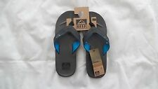 Reef HT Slippers Mens Size 11 - Black and Blue