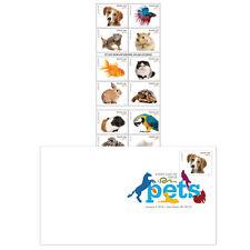 USPS New Pets Keepsake with Random Digital Color Postmark Cover
