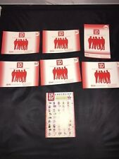 One Direction Photo cards Photoprints (6) & checklist