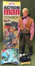 vintage action man 40th anniversary eagle eye cowboy gripping hands  boxed