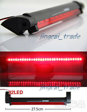 Universal 32 LED Red 12V Car Auto High Mount Third Brake Stop Tail Light Lamp