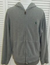 RALPH LAUREN POLO SWEATSHIRT HOODIE MEDIUM GRAY MENS