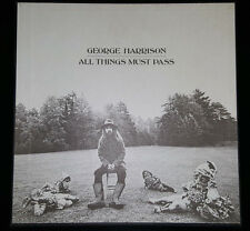BEATLES GEORGE HARRISON 1970 ALL THINGS MUST PASS 3 LP BOX SET MINT COVER/VINYL