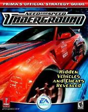 Need for Speed Underground (Prima's Official Strategy Guide) Irish, Dan Paperba