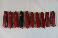 Lot of 10 - Victorinox Swiss Army Knives - TSA used