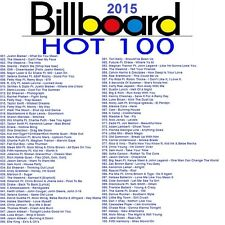 Promo Video DVDs, Billboard 2015 Top 100 Hits 10-21-2015, ONLY 2 DVDs & 100 Hits