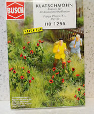 Busch 1255 HO 1/87 Poppy Plants KIT C-9 NIB