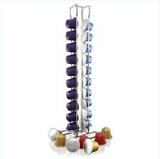 Nespresso 20 Coffee Capsules pods Holder Rack Dispenser Stand Storage