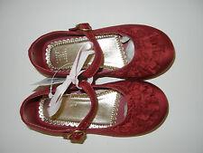 NWT Janie & Jack Precious Holiday Red Dress Shoes 9 LR