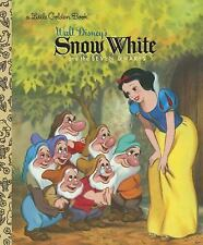Snow White and the Seven Dwarfs (Disney Princess) (Little Golden Book) RH Disne