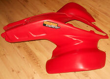 HONDA TRX 250R, TRX250R RED FRONT FENDERS MAIER 86-89,NON SHINNY,NOT PRE DRILLE