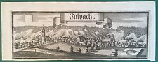 Kupferstich GEMEINDE JULPACH, Niederbayern,  Julbach, Michael  Wening 1721