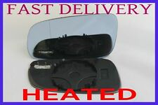 VW GOLF MK4 1997-2006 BLIND SPOT BLUE ELECTRIC/ HEATED WING MIRROR GLASS LEFT
