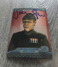 JULIAN GLOVER STAR WARS EMPIRE STRIKES BACK VEERS GAME OF THRONES SIGNED CARD
