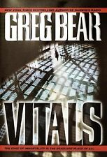 "Vitals by Greg Bear:   ""SIGNED""    (2002, Hardcover)"