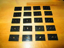 LOT 20x  BASE PLATES FOR MEGA BLOKS MICRO ACTION FIGURES - HALO CALL DUTY    C11