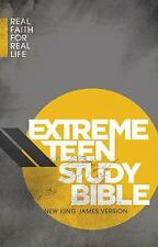 NKJV, Extreme Teen Study Bible, Hardcover: Real Faith for Real Life