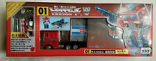 Transformers CONVOY OPTIMUS PRIME 2002 New Year Special NIB Action Master Takara
