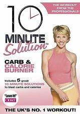 10 Minute Solution - Carb And Calorie Burner DVD New Workout Fitness