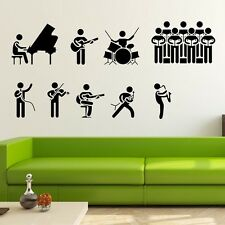 The Band Show Wall stickers Nursery Decal Removable Mural Deco Vinyl Kids Au
