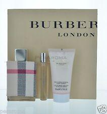 Burberry London by Burberry Women 3 Piece gift set Eau De Parfum