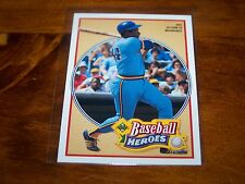 MILWAUKEE BREWERS HANK AARON 1991 UPPER DECK BASEBALL HEROES #24 OF 27