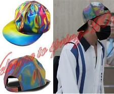Bigbang G-dragon Holographic Snapback BACK TO THE FUTURE Cap MARTY MCFLY Hats