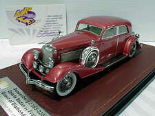 "GLM Models 151101 # Duesenberg J 365-2385 Sports Sedan Baujahr 1933 "" rot "" 1:43"