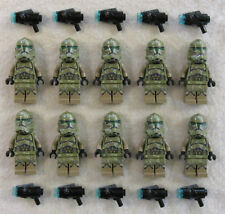 10 NEW LEGO STAR WARS 41ST KASHYYYK CLONE TROOPER MINIFIG LOT minifigure 75035