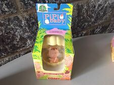 Vintage 90S# Tomy Tinkle Tots Pipi Baby Shell yellow # Nib
