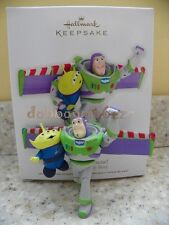 Hallmark 2012 Buzz to the Rescue Disney Pixar Toy Story Christmas Ornament