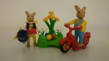 Playmobil 4458 Easter Bunny Rabbit with Scooter motor bike