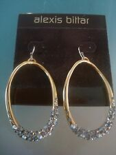NWT Alexis Bittar Signature Hoop Earring with Crystals - Nordstrom - $175