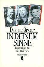 In Deinem Sinne Begegnungen mit Künstlerwitwen Dietmar Grieser 1988 (056)