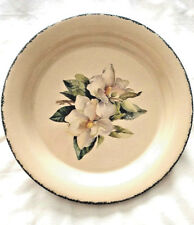 "HOME & GARDEN PARTY PIE PLATE - 10 3/4"" - MAGNOLIA PATTERN"