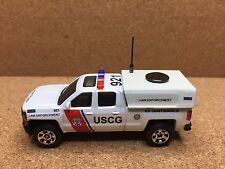 MATCHBOX POLICE CHEVY SILVERADO 1500 USCG LAW ENFORCEMENT KITBASH CUSTOM UNIT