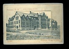 Unusual Souvenir Mail Card State Normal School Oneonta NY 12 Pullout Views B2597