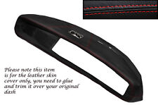 RED STITCH FITS TRIUMPH HERALD & VITESSE DASH DASHBOARD LEATHER SKIN COVER ONLY