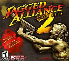 JAGGED ALLIANCE 2 GOLD PC GAME SHOOTER =NEW/SEALED W/ UNFINISHED BUS. XP/VISTA/7