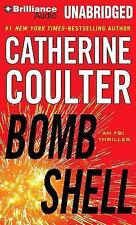 BOMB SHELL unabridged audio book on CD by CATHERINE COULTER