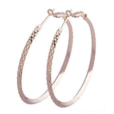 Round Circle Gold Novel Cool Design Gorgeous Basketball Wives Hoop Earring