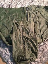 3  US Army Military WATERPROOF CLOTHES Clothing GEAR WET WEATHER LAUNDRY BAG VGC