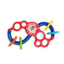 Rhino Toys Oball Flex & Slide Flexible Rattle Toy Rings New