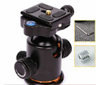 12KG Metal Ball Head Ballhead With Quick Release QR Plate for Tripod DSLR Camera